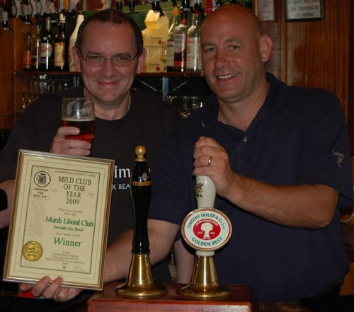 Mild Club of the Year 2009, Marsh Liberal Club