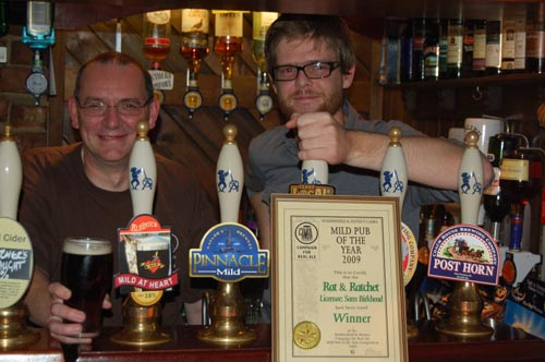 Mild Pub of the Year 2009, Rat & Ratchet