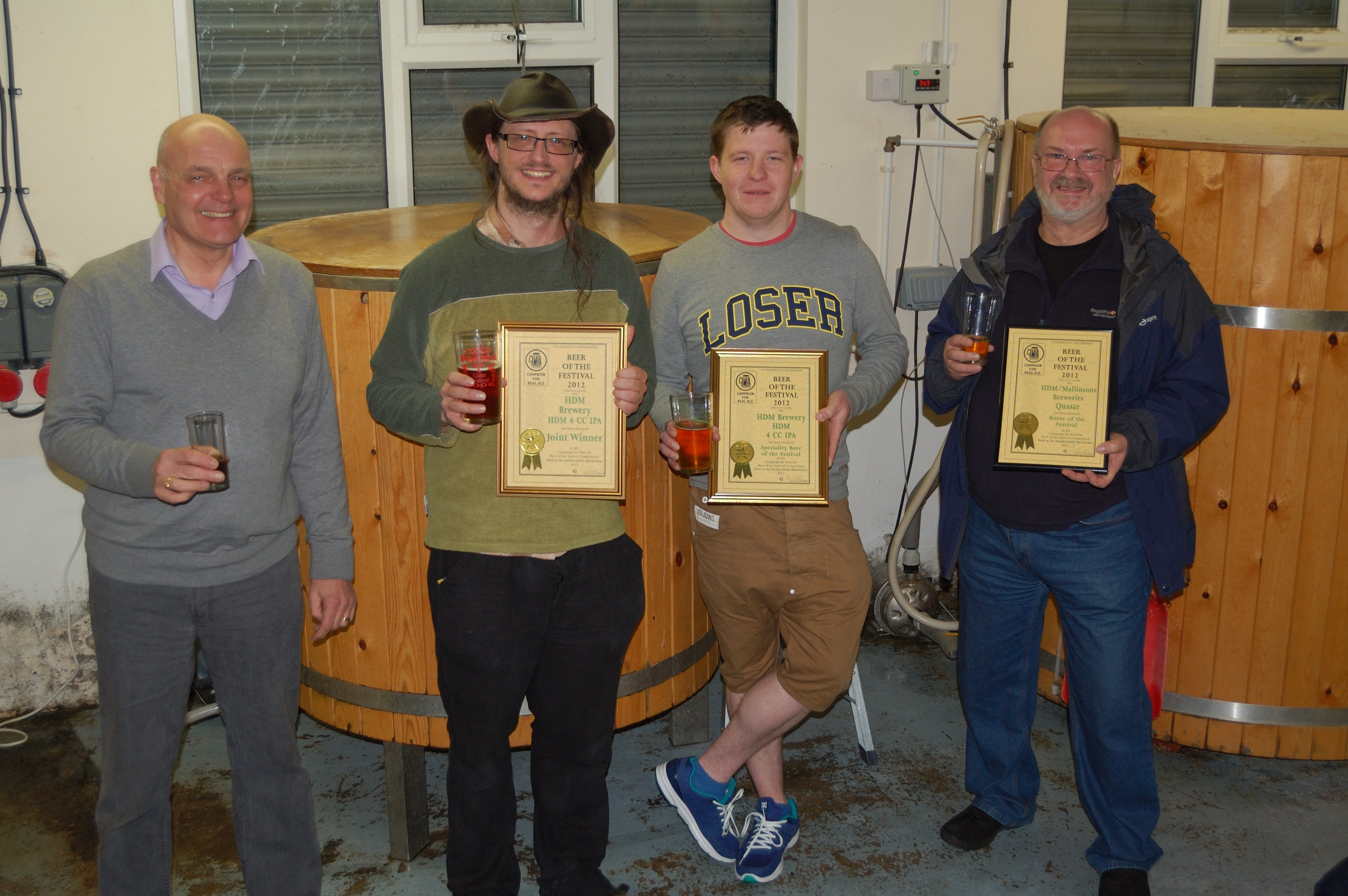 beer of the festival awards hand drawn monkey huddersfield camra